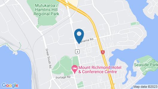 Mt. Wellington Motel Map