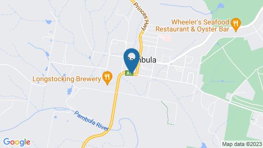 Idlewilde Town & Country Motor Inn Map