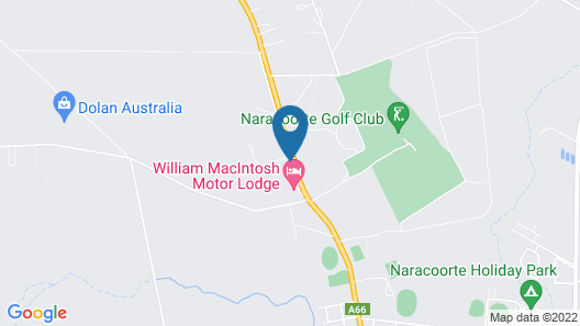 Rest Motels Naracoorte Map
