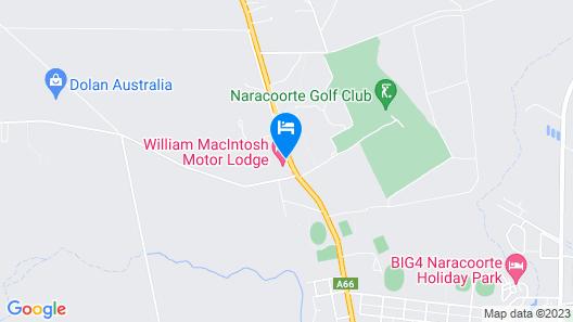 William Macintosh Motor Lodge Map