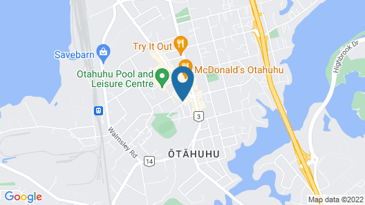 Auckland Astro Residence Map