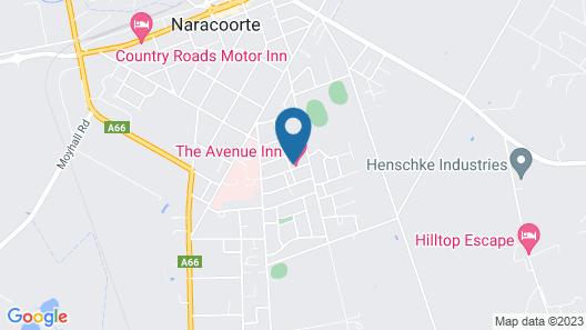 The Avenue Inn Map