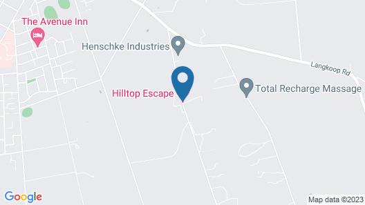 Hilltop Escape B&B Map