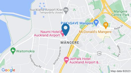 Naumi Auckland Airport Map