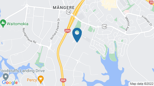 Jet Park Hotel Auckland Airport Map
