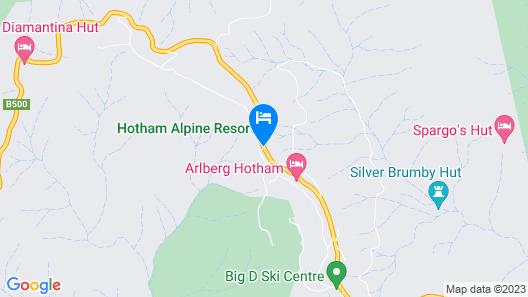 Schnapps Apartments Mount Hotham Map