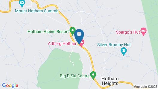 Arlberg Hotham Map