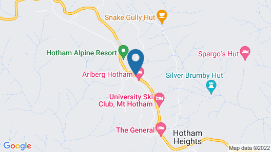 Ultima Apartments Mt Hotham Map