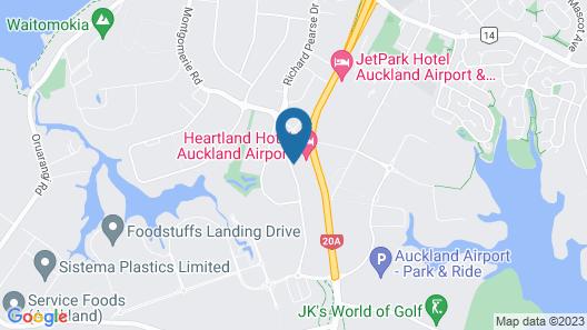 Heartland Hotel Auckland Airport Map