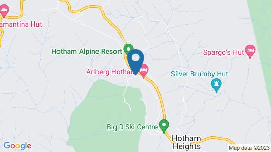 Hotham 1750 11 Map