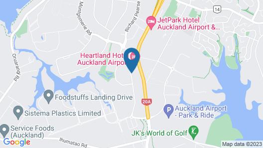 Sudima Auckland Airport Map