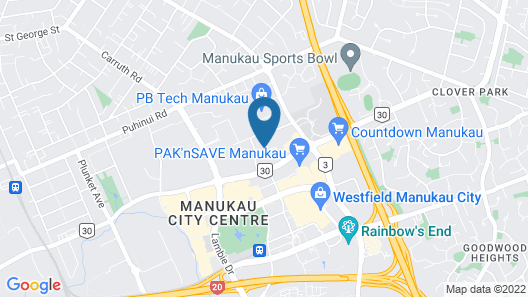 Central Manukau Escape Map
