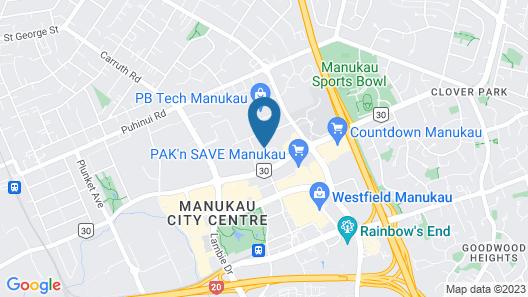 Toodle's Miami Manukau Map