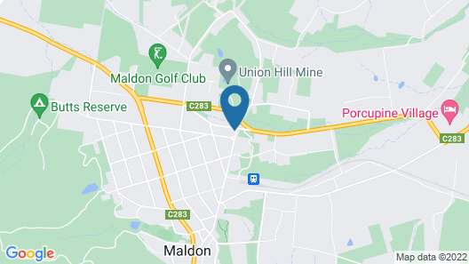 The Eaglehawk Country House Hotel Maldon Map