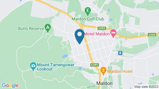 Parker Lodge Maldon Map