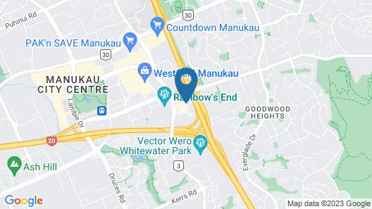 The Sebel Auckland Manukau Map
