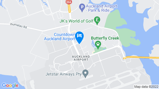 ibis budget Auckland Airport Map