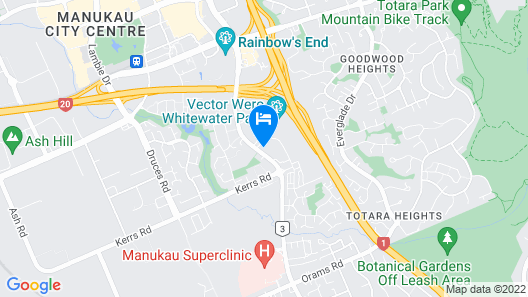 Ramada Suites by Wyndham Manukau Map