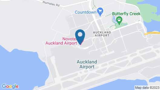 Novotel Auckland Airport Map