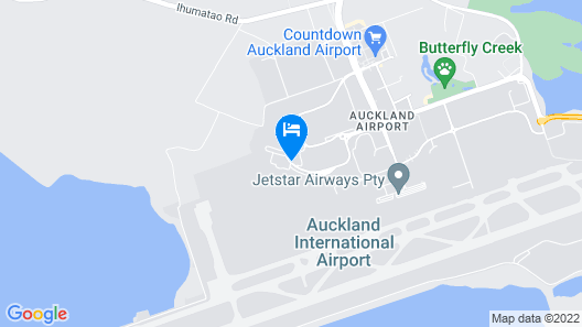 Novotel Auckland Airport Map