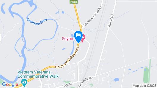 Seymour Motel Map