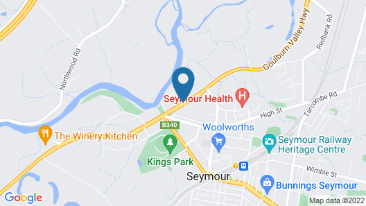 Comfort Inn Coach and Bushmans Map