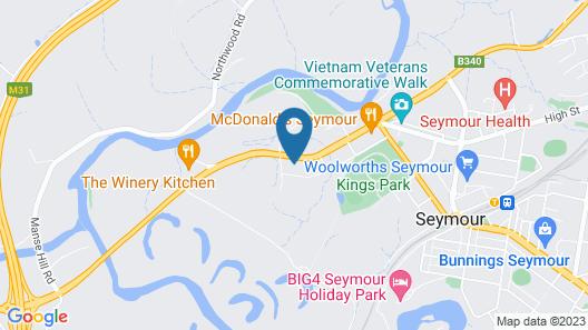 Wattle Motel Map