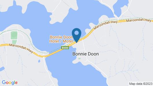 Bonnie Doon Hotel Map