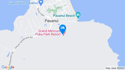 Grand Mercure Puka Park Resort Map