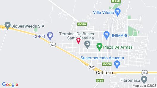 Hotel San Martin Map