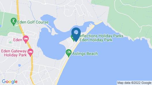 Reflections Holiday Parks Eden Map