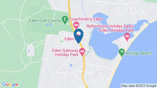 Eden Motel Map