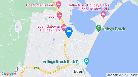 Garden of Eden Caravan Park Map
