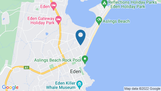 Saltwater Apartments Map