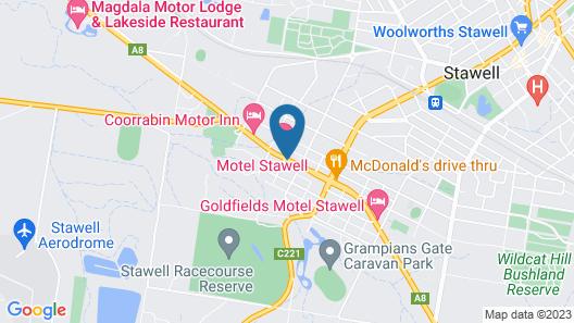 Hi-way Eight Motor Inn Map
