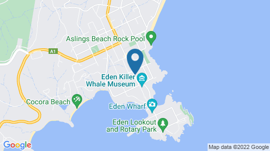 Twofold Bay Motor Inn Map
