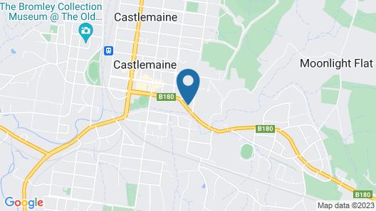 Castle Motel Map