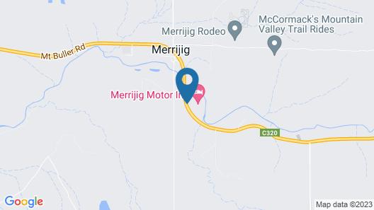 Merrijig Motor Inn Resort Map