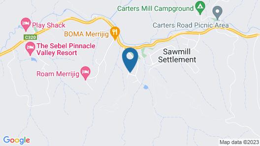Jarrah Lodge Map