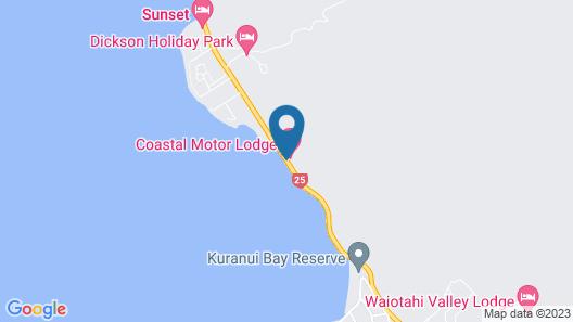 Coastal Motor Lodge Map