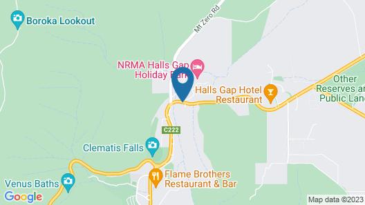 BIG4 NRMA Halls Gap Holiday Park  Map