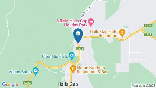 Grampians Eco YHA - Hostel Map