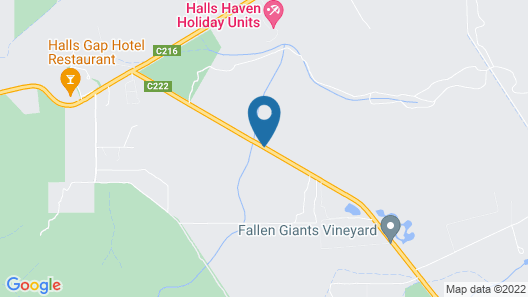Mountain View Motor Inn & Holiday Lodges Map