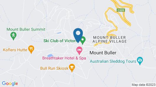 Ski Club of Victoria - Kandahar Lodge Map