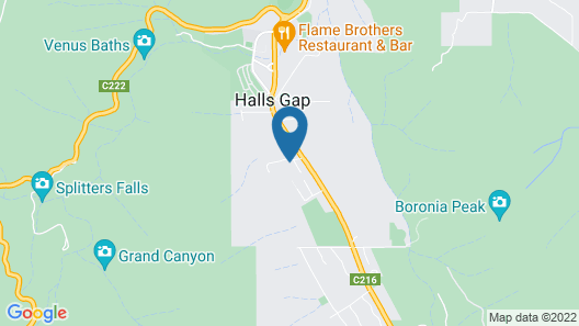 D'altons Resort Map