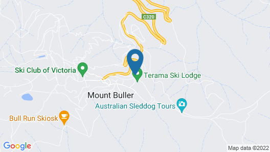 Duck Inn Mt Buller Map