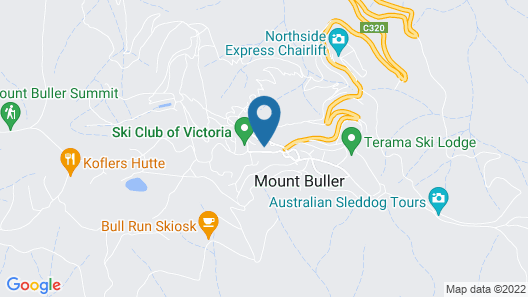 Mt Buller Apartment Rentals Map
