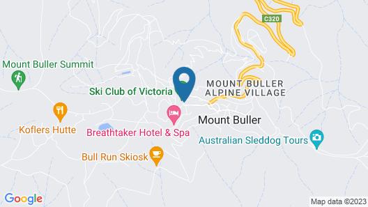 Ski Club of Victoria - Ivor Whittaker Lodge Map
