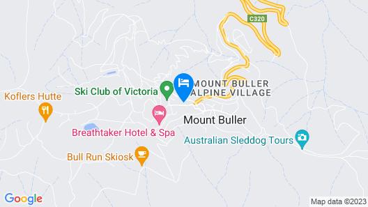 Buller Holidays Apartment Rentals Map