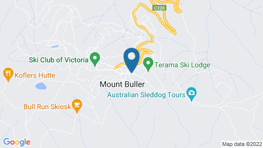Alpine Retreat Mt Buller Map